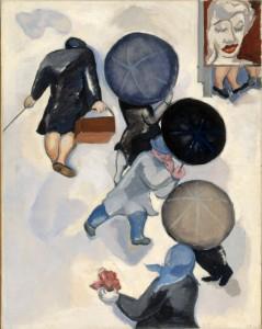 Birgit Ståhl-Nyberg: Tre paraplyer (1964)