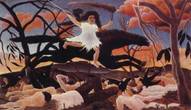 Henri Rousseau: Kriget