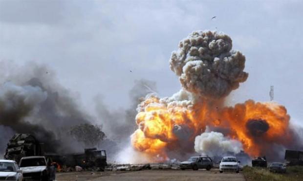 Bombningar Libyen