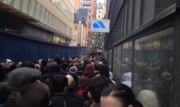 Arbetslösa på Tunnelgatan
