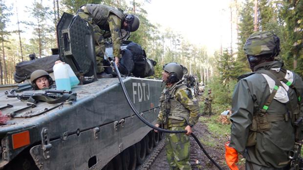 Foto: Caroline Karlsson/Försvarsmakten