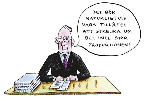 Robert Nyberg Strejkrätt
